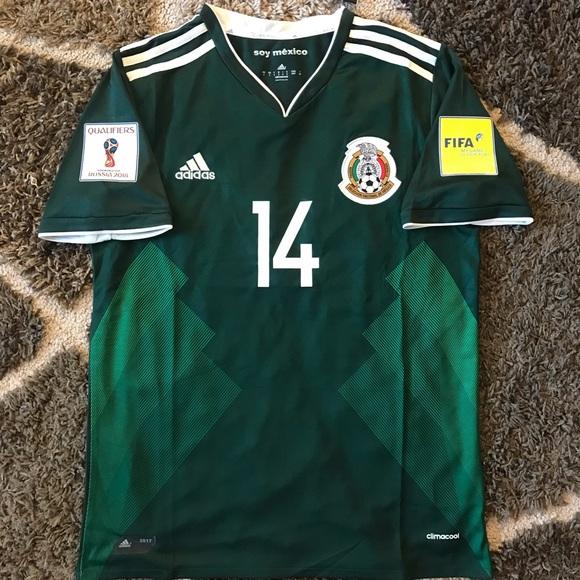 b7d19f34769 Mexico Home Soccer Jersey Chicharito  14 Small